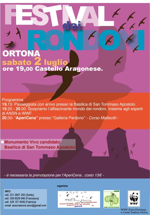 Ortona I Festival dei Rondoni 2016